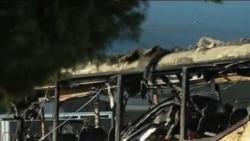 МВД Болгарии: автобус в Бургасе взорвал террорист-смертник