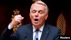 Министр иностранных дел Франции Жан-Марк Эйро