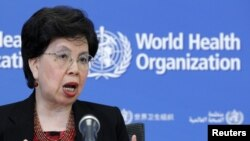 World Health Organization (WHO) Director-General Margaret Chan.