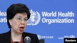 Margaret Chan shugabar hukumar kiwon lafiya ta duniya ko WHO