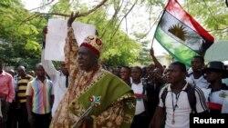 Nasu zanga zangar neman kafa kasar Biafra