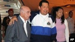 El presidente venezolano está desde el sábado pasado en Cuba para una nueva ronda de radioterapia.