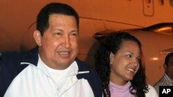 Chávez - El presidente venezolano está desde el sábado pasado en Cuba para una nueva ronda de radioterapia.