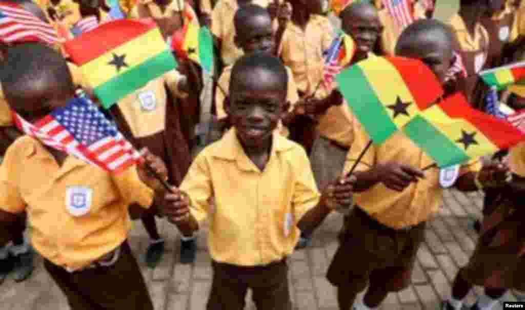 Melania Trump Ghana children