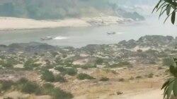 ထိုင်း-မြန်မာနယ်စပ် ကုန်စည်စက်လှေ ပစ်ခတ်ခံရ