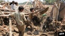 Lụt phá hủy 1,7 triệu căn nhà; làm hư hại 2,7 triệu hecta đất canh tác ở Pakistan