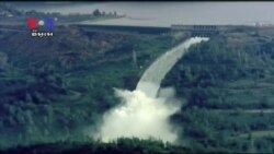 Emergency Work Underway to Fix Emergency Spillway at U.S. Tallest Dam
