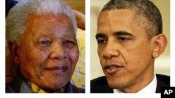 Nhiều người Nam Phi đã bày tỏ sự ủng hộ Tổng thống Mỹ, và nói họ nhìn thấy nơi ông Obama một cái gì giống như nhà lãnh đạo quý mến của họ.