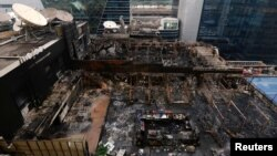 Restoran izgoreo u požaru