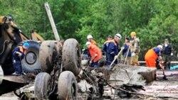 ۴۴ نفر در سقوط هواپیمای مسافربری روسیه کشته شدند