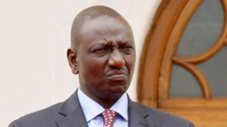 Willaim Ruto, le vice-président du Kenya