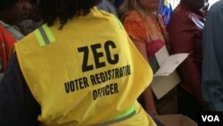 Zimbabwe voter registration 2018 election