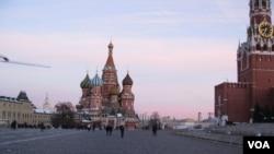 莫斯科紅場 (美國之音白樺拍攝)