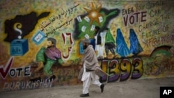 به برگزاری انتخابات یک هفتۀ دیگر باقیمانده است