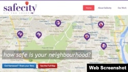Safecity uses crowdsourcing on sexual harassment to pinpoint safe or dangerous public spaces in Indian cities. It's among the creations of innovators at the 2016 Global Entrepreneurship Summit in Silicon Valley, California.