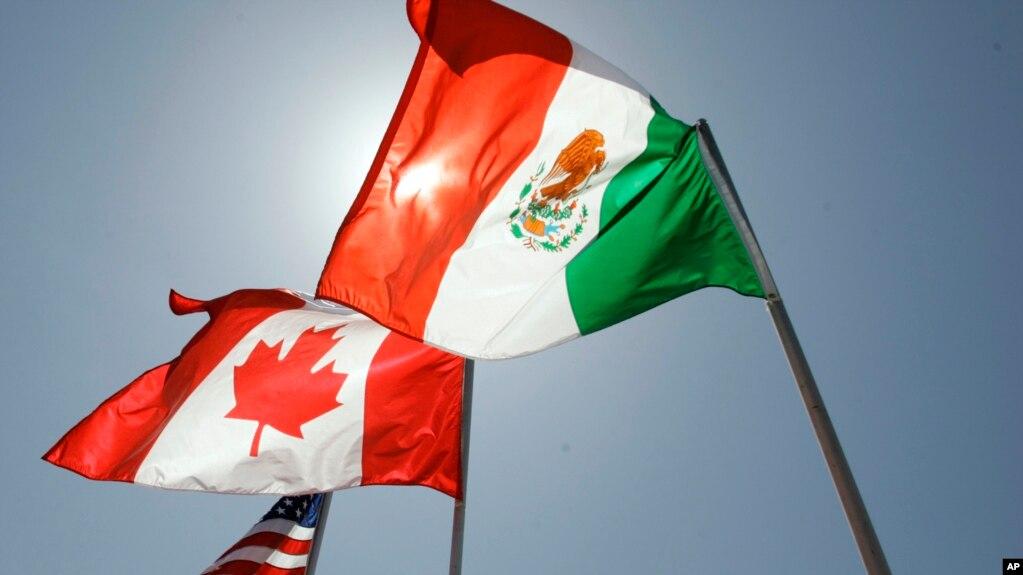 EE.UU. Canada y México siguen renegociando el TLCAN, pero no se espera que se alcance un acuerdo para el plazo del 17 de mayo de 2018.