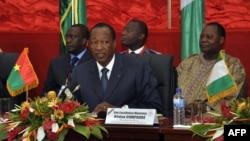 Blaise Compaoré, 7juillet 2012