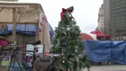 'Occupy' Protesters Take Time to Reflect Over Holidays