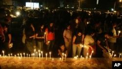 ممبئی حملوں میں ہلاک ہونے والوں کی یاد میں منعقد ہونے والی ایک تقریب (فائل فوٹو)