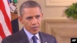Shugaba Barack Obama a hirarsa da Muryar Amurka.