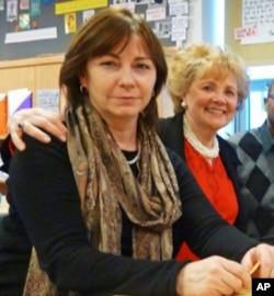 PS 59 principal Adele Schroeter (left) and Mentoring USA founder Matilda Cuomo are dedicated to the mentoring ideal.