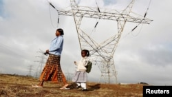 Electricity to Africa