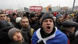 تظاهرات اعتراضی در مسکو و دیگر شهرهای روسیه آغاز شد