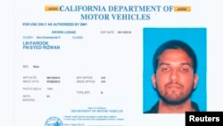 Syed Rizwan Farook mutumin dashi da matarsa suka kai harin na California ranar Lahadi