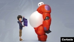 """Big Hero 6"" fue la ganadora de la taquilla del fin de semana."