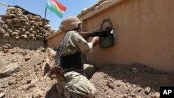 Một thông báo của người Kurd nói chiến binh Peshmerga của họ đã tái chiếm 8 ngôi làng trong chiến dịch quân sự của họ.