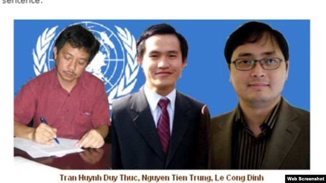 Tran Huynh Duy Thuc, Nguyen Tien Trung, Le Cong Dinh
