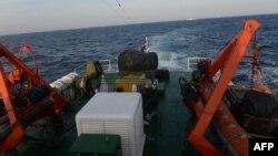 Anjungan minyak China di perairan sengketa Laut China selatan (foto: dok).