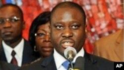 Guillaume Soro, président de l'Assemblée nationale de Côte d'Ivoire.