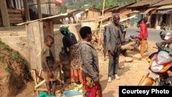 Le marché dans la commune de Matongo au Burundi.