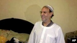 30일 이집트 무슬림형제단 고위 간부인 에삼 엘-에리안이 뉴카이로에서 검거됐다. 사진은 이집트 내무부가 인터넷에 공개한 검거 현장 모습.