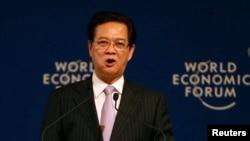 Thủ tướng Nguyễn Tấn Dũng phát biểu tại Diễn đàn kinh tế thế giới (WEF).