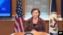 ویکتوریا نولاند سخنگوی وزارت خارجۀ ایالات متحده