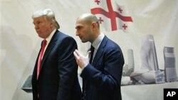 Дональд Трамп и Георгий Рамишвили
