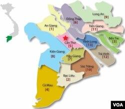 ĐBSCL 13 Tỉnh Miền Tây, sau 2 con đập dòng chính của Lào: Xayaburi và Don Sahong; Luang Prabang sẽ là con đập thứ ba lớn nhất của Lào do công ty quốc doanh PetroVietnam là chủ đầu tư. Cũng để thấy rằng một Việt Nam không chỉ đang là nạn nhân nhưng cũng là một tòng phạm trong cái chết của Đồng Bằng Sông Cửu Long.