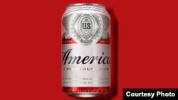 """Budweiser is temporarily changing its name to 'America."""" (Budweiser)"""