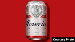 """Budweiser cambiará temporalmente su nombre a """"America""""."""