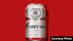 "Budweiser is temporarily changing its name to 'America."" (Budweiser)"