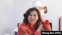 因上訪被毆打致殘的維權人士倪玉蘭(資料照)