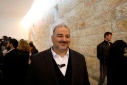 Birleşik Arap Listesi lideri Mansur Abbas