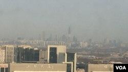 中国雾霾严重
