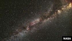 Участок Млечного пути в обзоре космического телескопа НАСА «Кеплер».