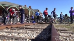 Old Tracks Find New Purpose as Cyclists Ride Rails