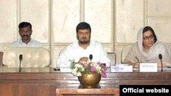 غلام علی قائمہ کمیٹی کے اجلاس کی صدارت کرتے ہوئے۔ (فائل فوٹو)
