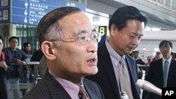 비핵화회담에 참석하기 위해 베이징에 도착한 위성락 한반도평화교섭본부장