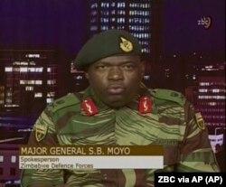 Mayor general Sibusiso Moyo